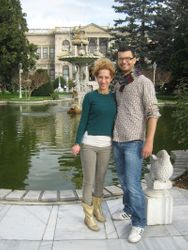 Vrt Dolmabahce palate