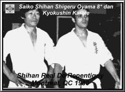 Saiko Shihan Shigeru Oyama and me