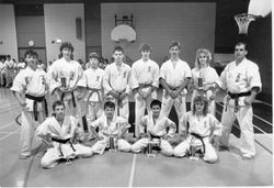 Stydents tournaments in USA Kyokushin Karate