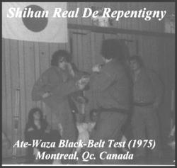 Black Belt test Ate-Waza 1976