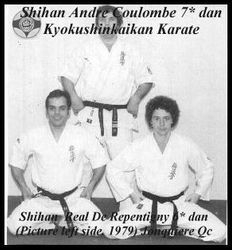 Shihan nAndre Coulombe and me