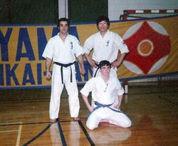 Kyokushin demo and Seminar 1980