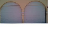 2 Garage Doors with Facia-The Villa