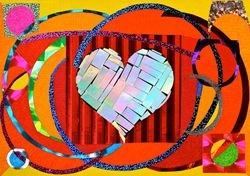 """Rainbow heart"""