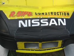 Casey Sipe flying the Nissan banner
