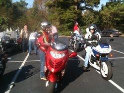 At Arkansas Fallen Rider Breakfast