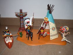 Playmobil Super Set Indian Camp
