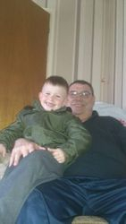 andy & youngest grandson