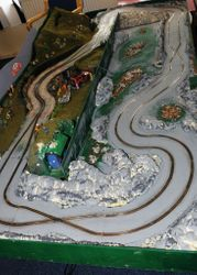 The famous Slot Rally GB watersplash