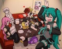 Vocaloid Karaoke night