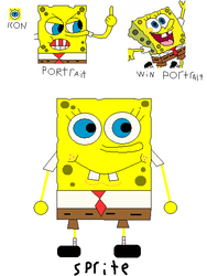 My Spongebob Spritesheet Part 1