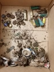 Lots of trash to find it. Including lots of pull tabs.