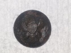 Federal General Service Coat Button