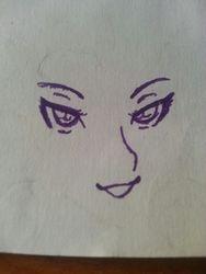 A face.