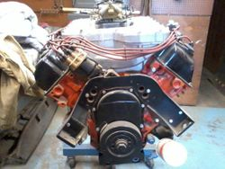 Hemi with front motor mount