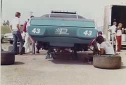 This is how we worked on car at short tracks.