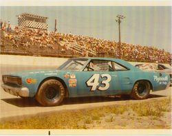 Ole Blue ready to race.