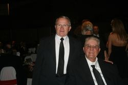 Chief and I at his induction to the Internation Hall of Fame.