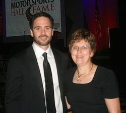 Jimmie Johnson and Louanna