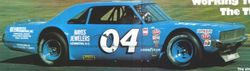 Joe Millikan in Chrysler kit car