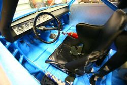 Richard's seat compartment