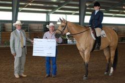 Appaloosa Hunter Under Saddle Stake Champions!