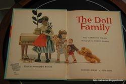 Wonder Books 1962: The Doll Family
