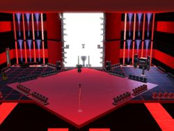 The sunset Valley Blind Audition Stage