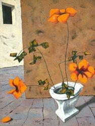 """""""Bouquet au Fleurs""""; 1966"""