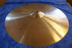 Old bad cymbal before...