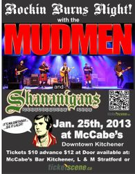 Robbie Burns Night with the MUDMEN