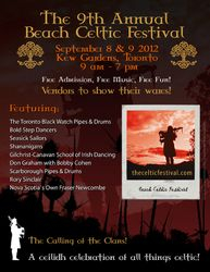 Beaches Celtic Fest Toronto