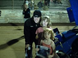 granddaughters with a sprint driver