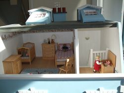 Lily and Mollie's room.