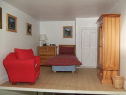 Martin's bedroom.