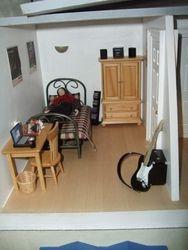 Simon's room.