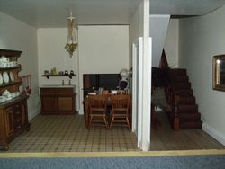 Kitchen and Entrance hall.