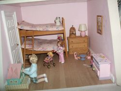 Fiona and Lucy's bedroom