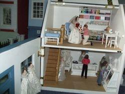 Shop interior and workshop