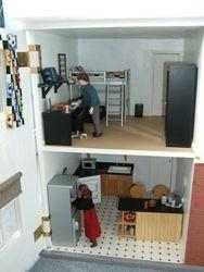 Kitchen and Jonathan's room