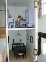 Dining room and Charlotte's room