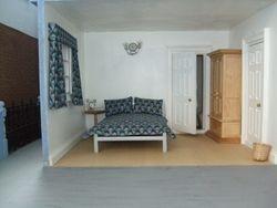 Basement flat - bedroom