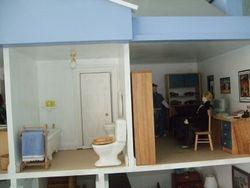 Huw's bedroom and bathroom