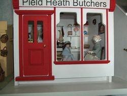 Butcher's shop exterior