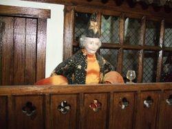 Wizard awaiting his dining companion