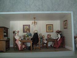 Interior of Iris Cafe