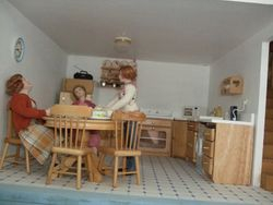 Reorganised kitchen