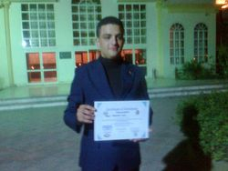 Tarek Mahmoud: The best 2nd inventor all over the world in ICNBS Egypt 2012