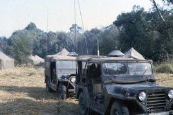 Two M-107 Radio Jeeps (USAF TACP)