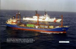 "Drug Ship ""Busted"""